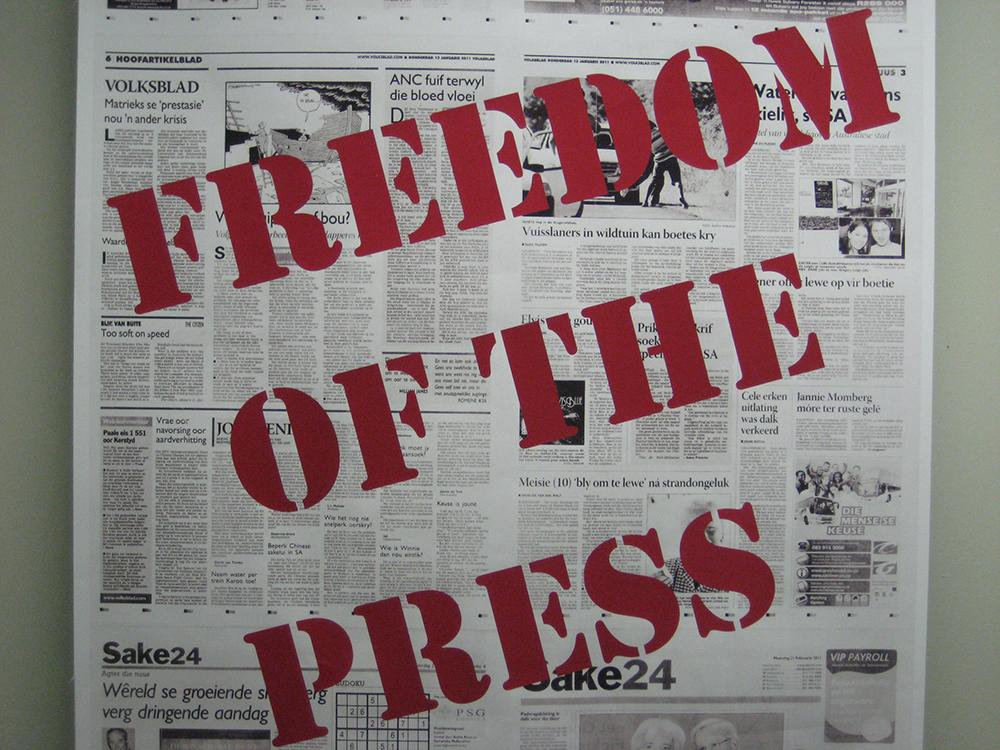 Vad är tryckfrihet?